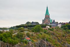 View on Sofia Church in Stockholm Royalty Free Stock Photo