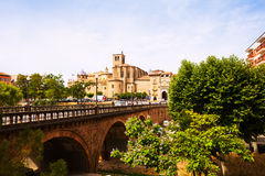 View of Solsona Stock Image