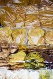 Colored potato Stock Image