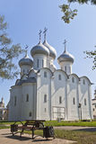 View of Sophia cathedral in Vologda. Russia Royalty Free Stock Photography