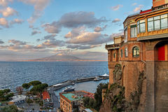 View from the Sorrento coast. Stock Images