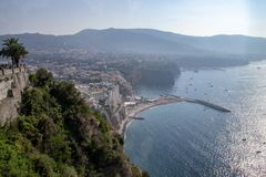 View of Sorrento, Italy royalty free stock images