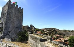 Sortelha – Historical Village of Portugal. View of Sortelha, the oldest and best well preserved historical village of Portugal stock photography