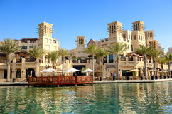 View of the Souk Madinat Jumeirah Royalty Free Stock Image