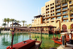 View of the Souk Madinat Jumeirah Stock Photography