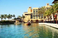 View of the Souk Madinat Jumeirah Royalty Free Stock Photo