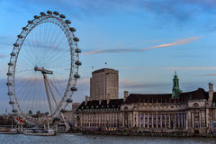 View of South Bank, Tourist Attraction Stock Photo