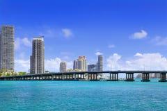View of South Beach Miami Stock Photos