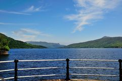 A view south down the Loch. Stock Images