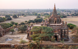 View of South Guni Temple thru North Guni Temple window in Bagan Stock Image