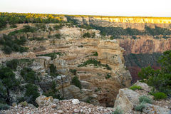 View on South Kaibab Trailhead at Grand Canyon, USA Royalty Free Stock Photo