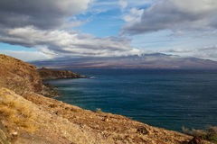 View of South Maui Stock Photography