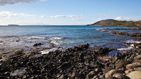 View from South Maui Royalty Free Stock Photography
