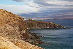 View of South Maui Royalty Free Stock Images