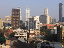 View of South Mumbai in India Stock Images