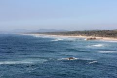 View south from Port Macquarie Royalty Free Stock Photography