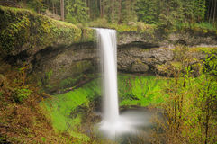 A View Of South Silver Falls Royalty Free Stock Photo