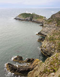 A View of South Stack Lighthouse, Wales Royalty Free Stock Image
