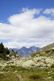 View from South Tirol onto Engadin Royalty Free Stock Photos