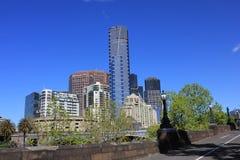Melbourne Southbank Eureka SkyDeck. View of Southbank south bank of Yarra river, Melbourne, Australia: Eureka SkyDeck 88 Royalty Free Stock Photos