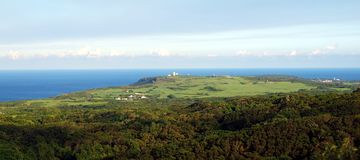 View of the Southern Tip of Taiwan Stock Photo