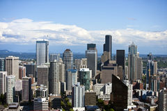 View from Space Needle Stock Images