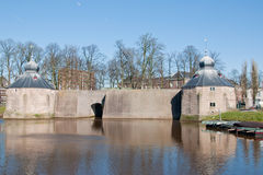 A view at Spaniards hole (Spanjaardsgat) in Breda, Royalty Free Stock Images