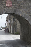 View through Spanish Arch, Galway City, County Galway Stock Images