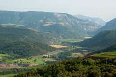 View of Spanish Pyrenees stock image