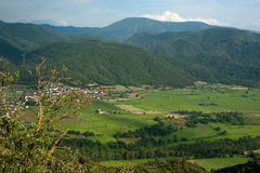 View of Spanish Pyrenees Royalty Free Stock Photo