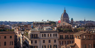 View from Spanish Steps Royalty Free Stock Photography