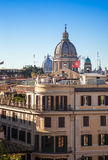 View from Spanish Steps Royalty Free Stock Images