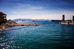 View of Spanish town Algeciras Royalty Free Stock Photos
