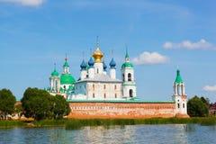 View of Spaso-Yakovlevsky Monastery in Rostov Royalty Free Stock Image