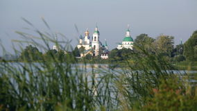 View of Spaso-Yakovlevsky Monastery Royalty Free Stock Photography