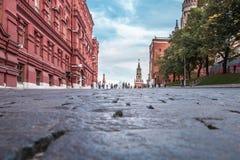 View of Spasskaya Tower Stock Photo
