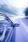 View of speeding car Stock Image