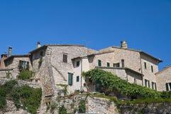 View of Spello. Umbria. Stock Photos