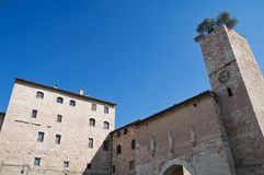 View of Spello. Umbria. Royalty Free Stock Images
