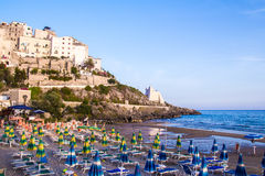 View of Sperlonga, in Italy Royalty Free Stock Photo