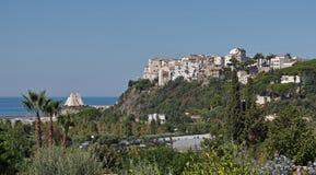 View of Sperlonga. View of the village of Sperlonga in summer, Latium, Italy Stock Photo