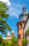 View of the Speyer Cathedral and the Historical Museum of the Pa. Latinate Stock Photo