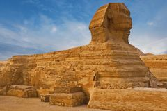 View of the Sphinx Egypt royalty free stock photography