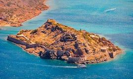 Island of Spinalonga, Crete, Greece Stock Photo