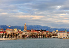View of Split old town, Croatia Royalty Free Stock Image