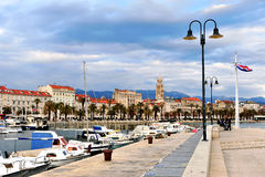 View of Split old town, Croatia Stock Image
