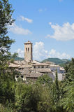 View of Spoleto. Umbria. Royalty Free Stock Images
