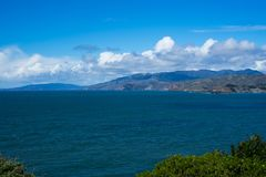 Ocean View in Lands End, San Francisco. The view in spring in Lands End, San Francisco, CA, U.S royalty free stock photo