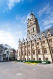 View of square with Het Belfort van Gent, Ghent Stock Photography