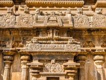 View of Sri Jalakandeswarar Temple in Vellore. Vellore, India - Circa January, 2018. View of Sri Jalakandeswarar Temple in Vellore. Details of architecture stock image